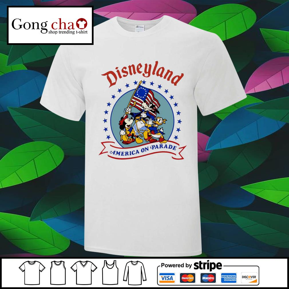 Disneyland America on parade shirt