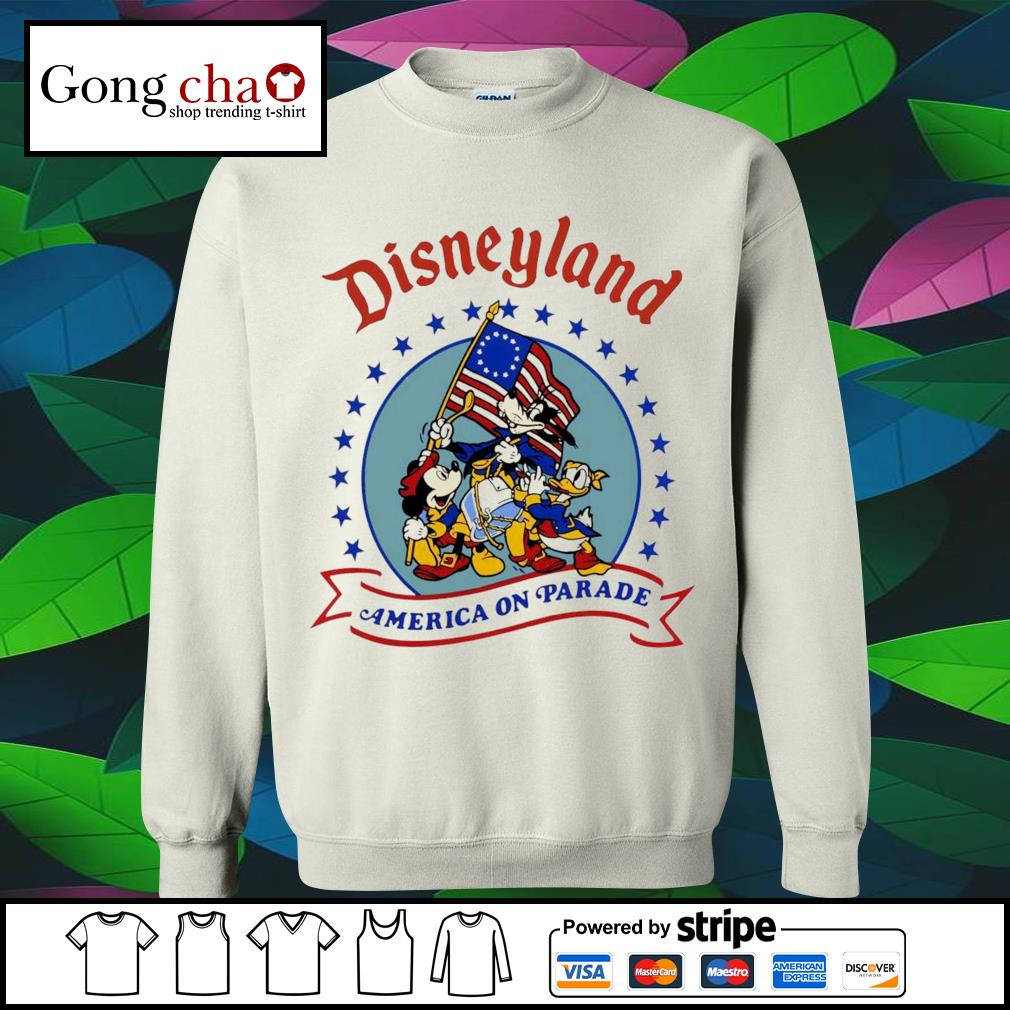 Disneyland America on parade s sweater