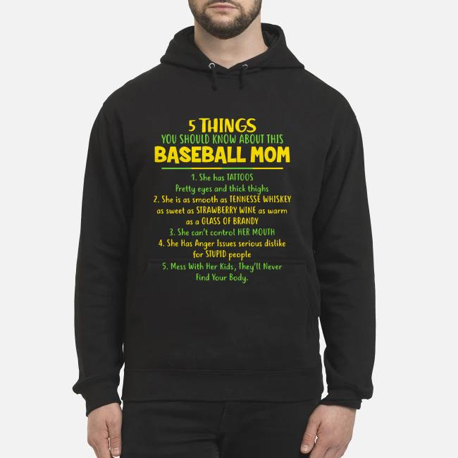 5 things You should know about this baseball Mom Hoodie