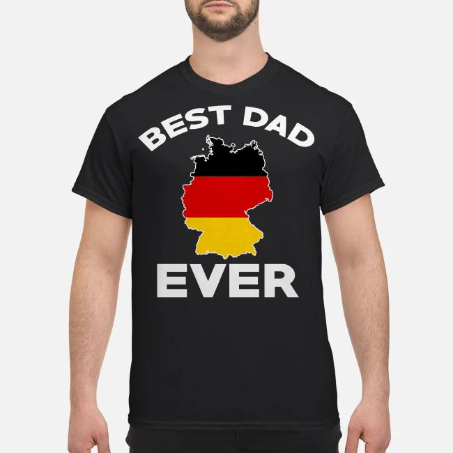 Best dad ever Germany state shirt