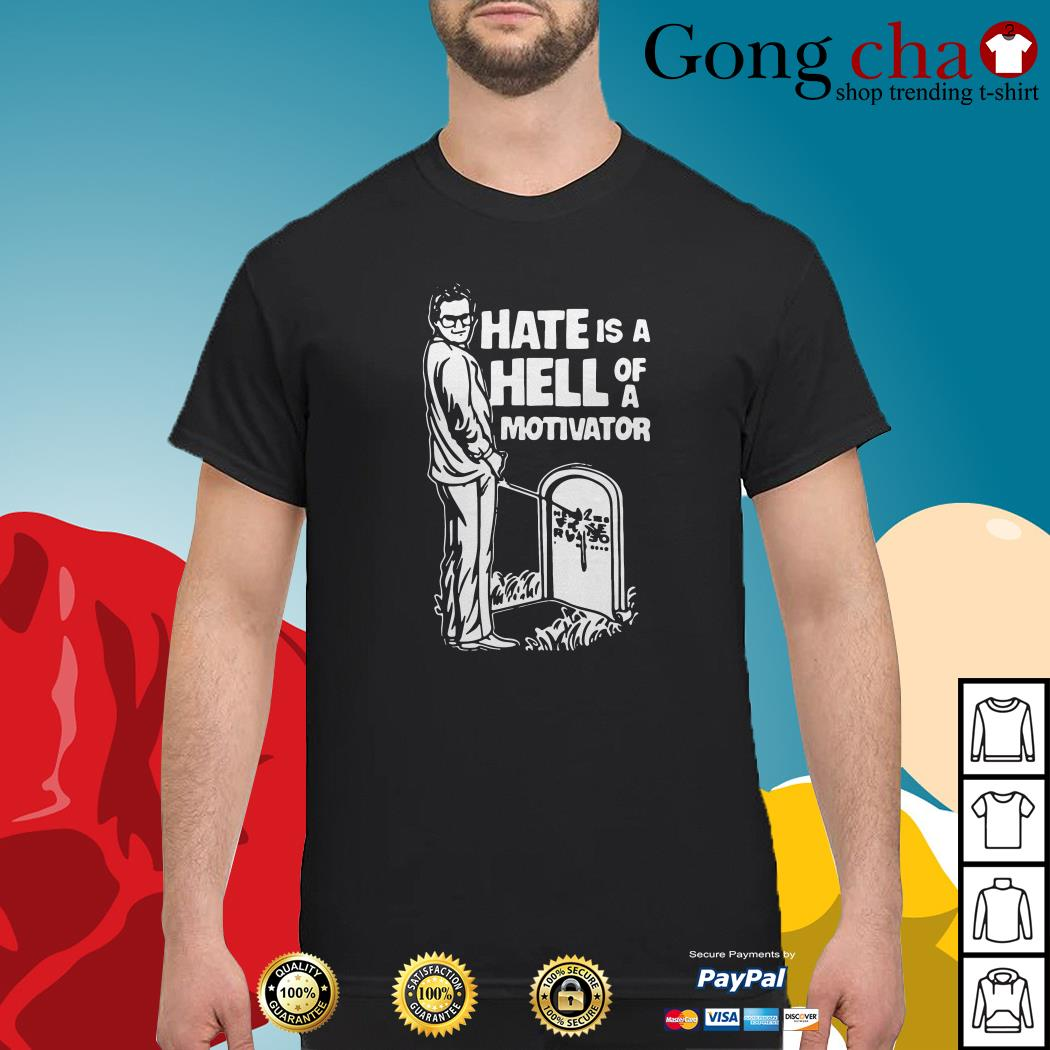 Cornette and Russo hate is a hell of a motivator shirt