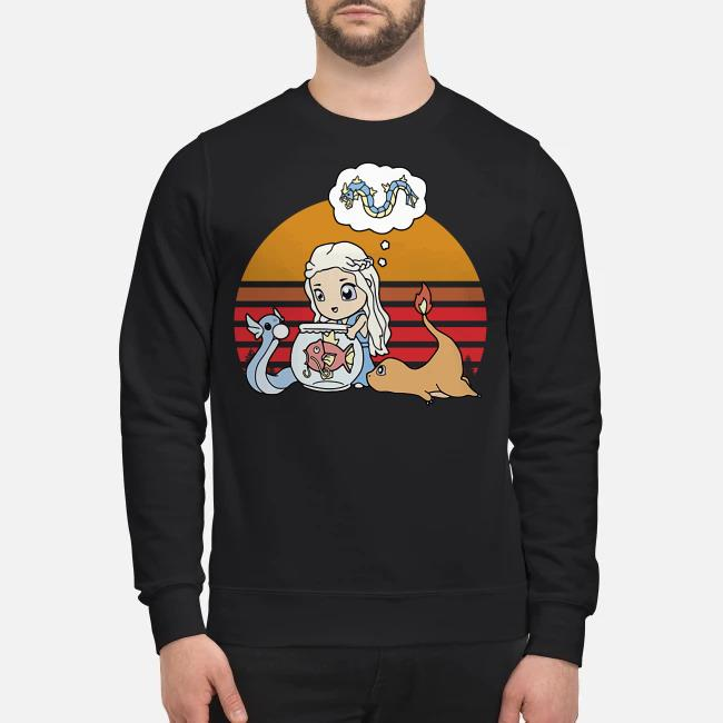 Daenerys Targaryen Mother of Pokemon vintage Sweater