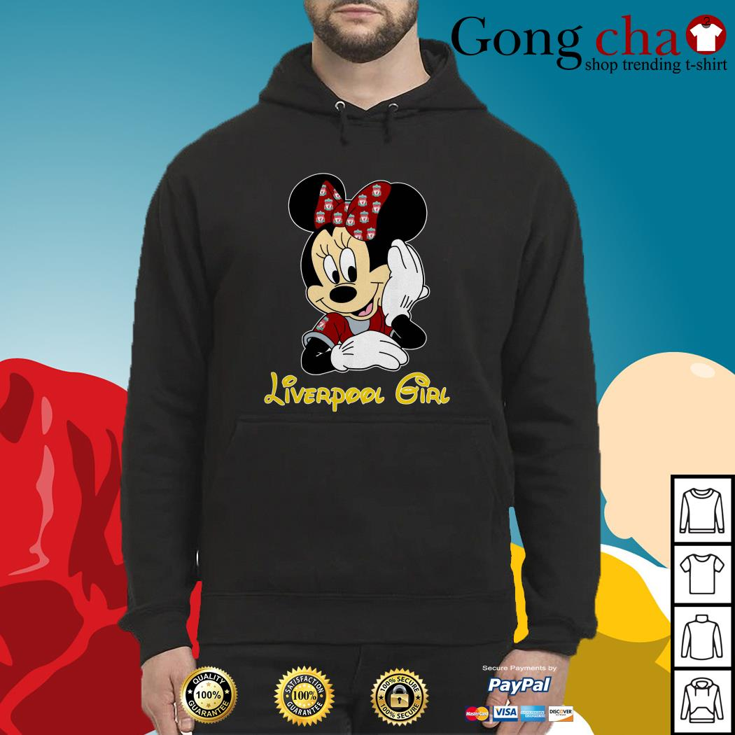 Disney Minnie Mouse Liverpool girl Hoodie