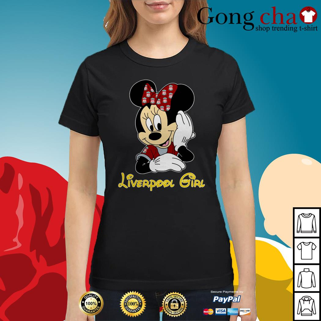 Disney Minnie Mouse Liverpool girl Ladies tee