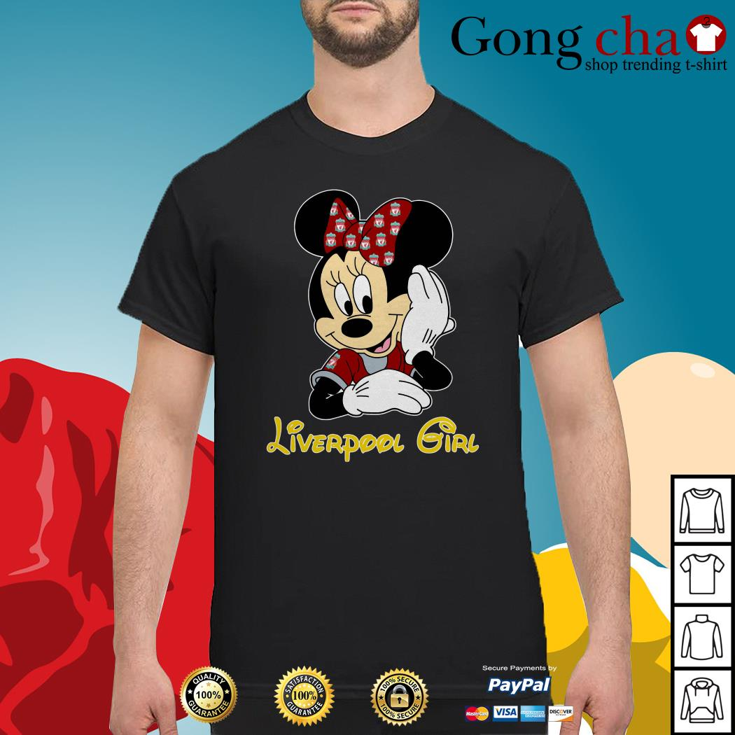 Disney Minnie Mouse Liverpool girl shirt