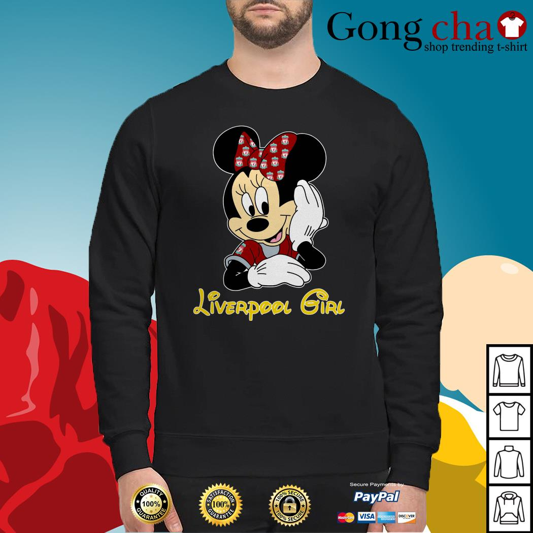 Disney Minnie Mouse Liverpool girl Sweater