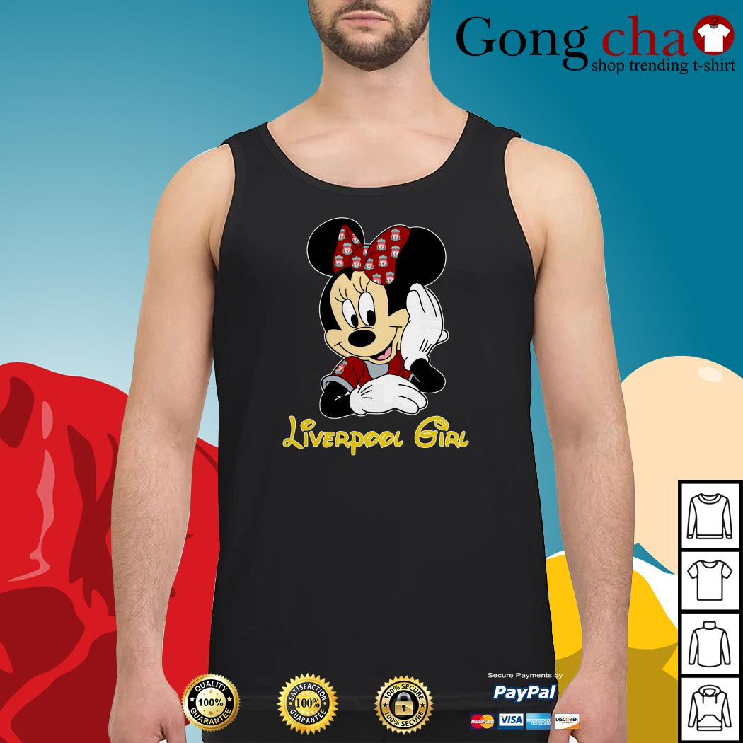 Disney Minnie Mouse Liverpool girl Tank top