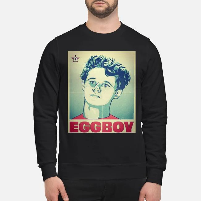 Egg Boy is my hero poster Sweater