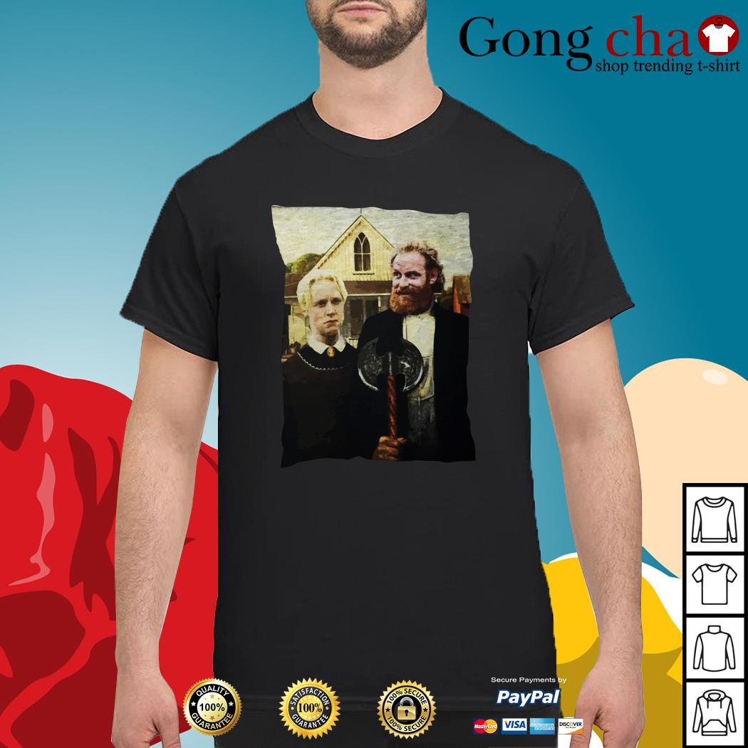 Game of Thrones Tormund and Brienne Westeros Gothic shirt