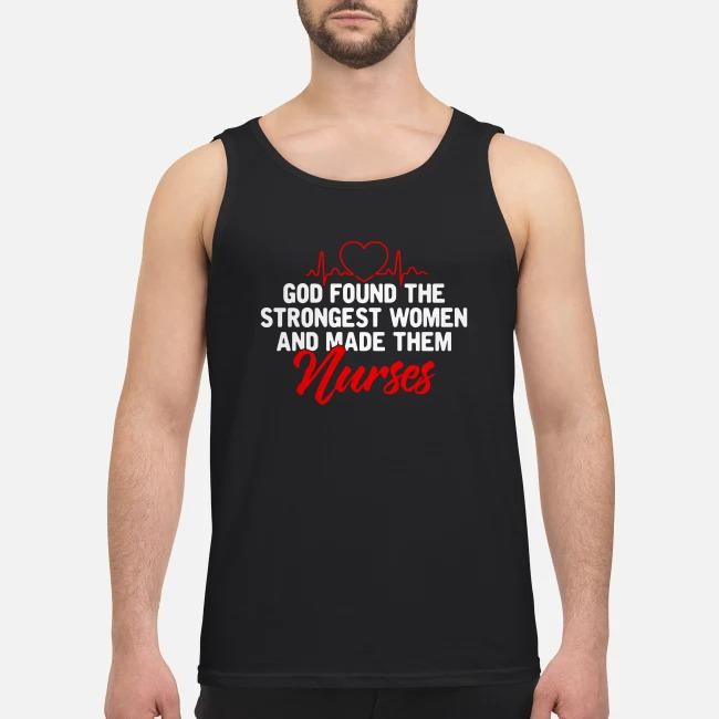 God found the strongest women and made them social workers Tank top