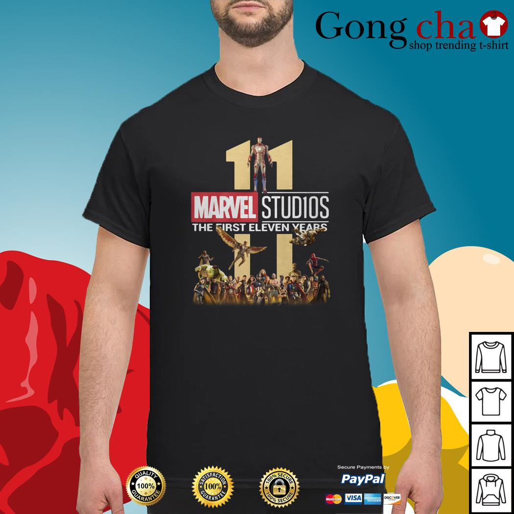 Marvel Studios the first eleven years shirt