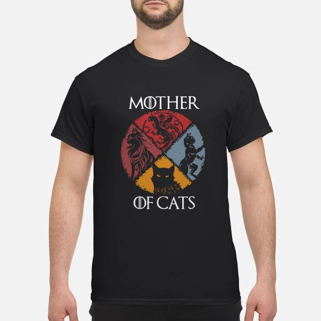 Mother of cats vintage Game of Thrones shirt