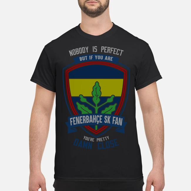 Nobody is perfect but if you are Fenerbahce SK fan you're pretty damn close shirt