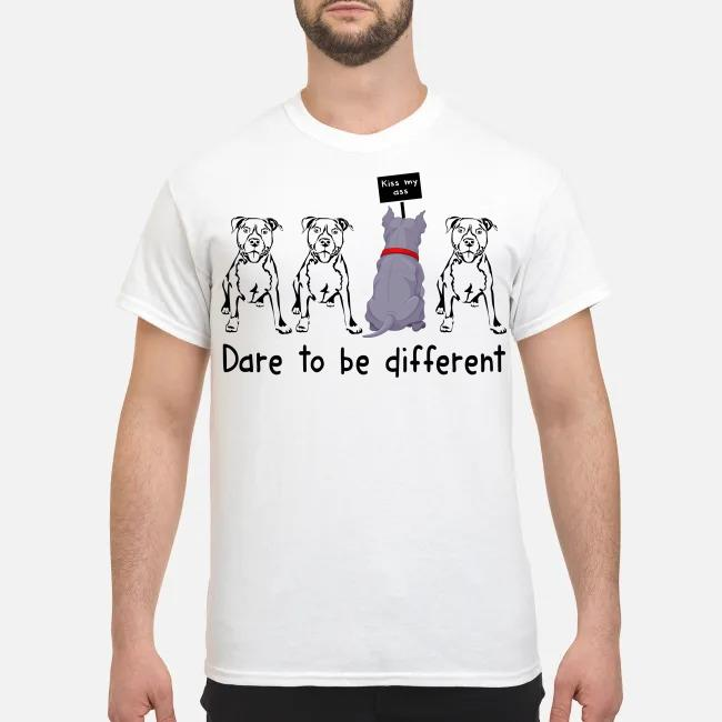 Pitbull Dare to be different shirt