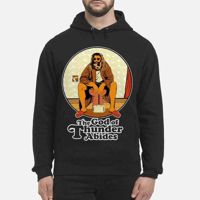 The God of Thunder Abides Hoodie