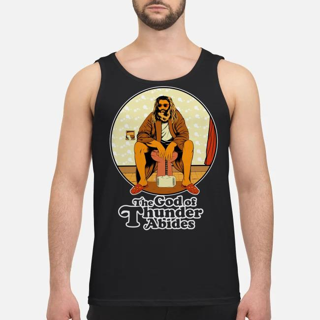 The God of Thunder Abides Tank top
