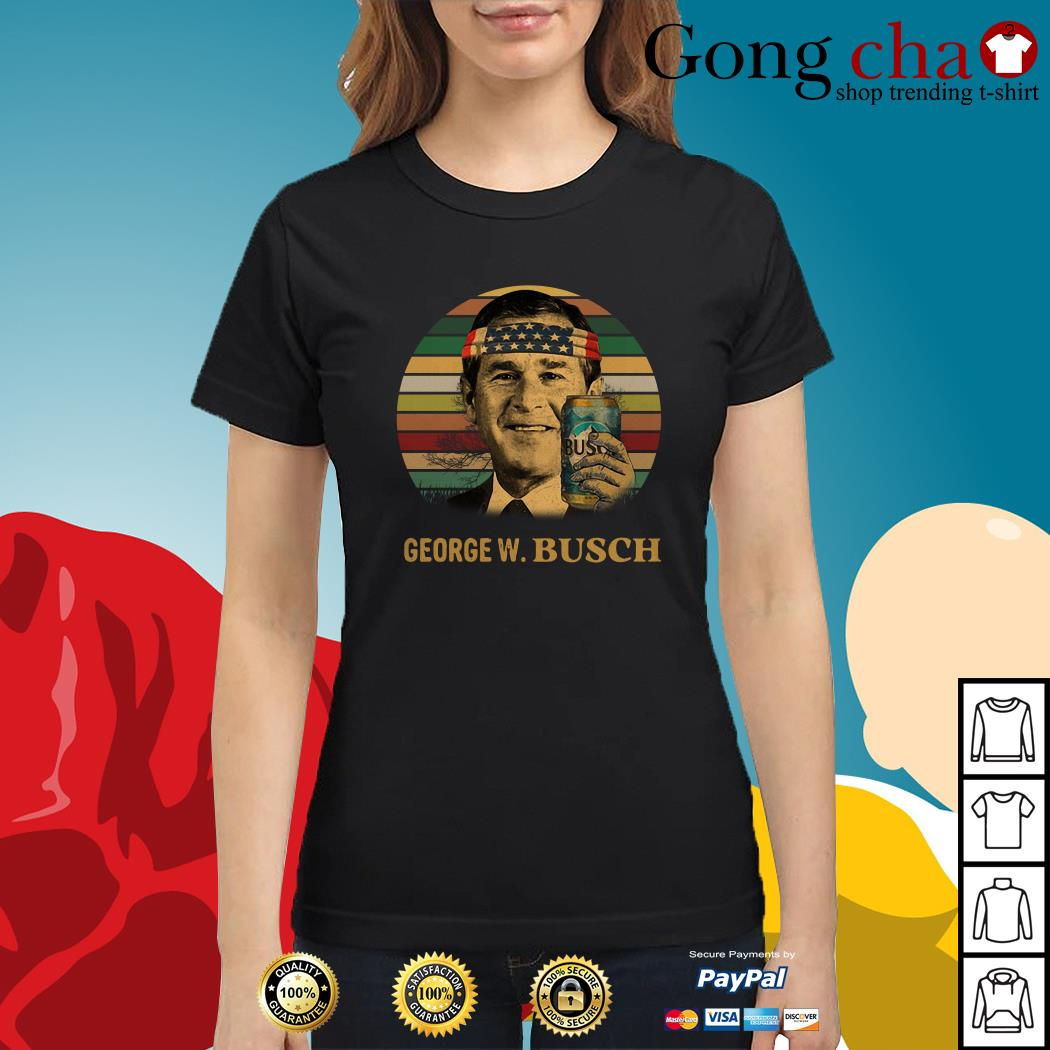 George W. Busch vintage Ladies tee