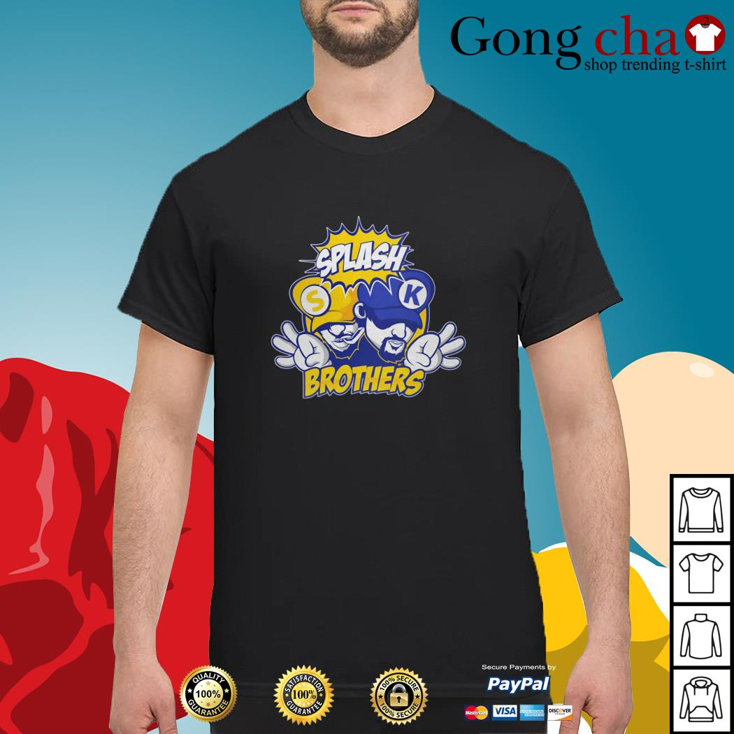 Golden State Warriors Splash Brothers shirt