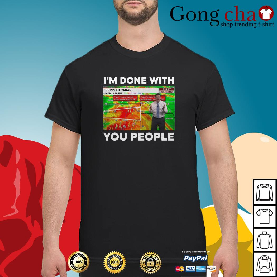 Jamie Simpson I'm done with you people shirt