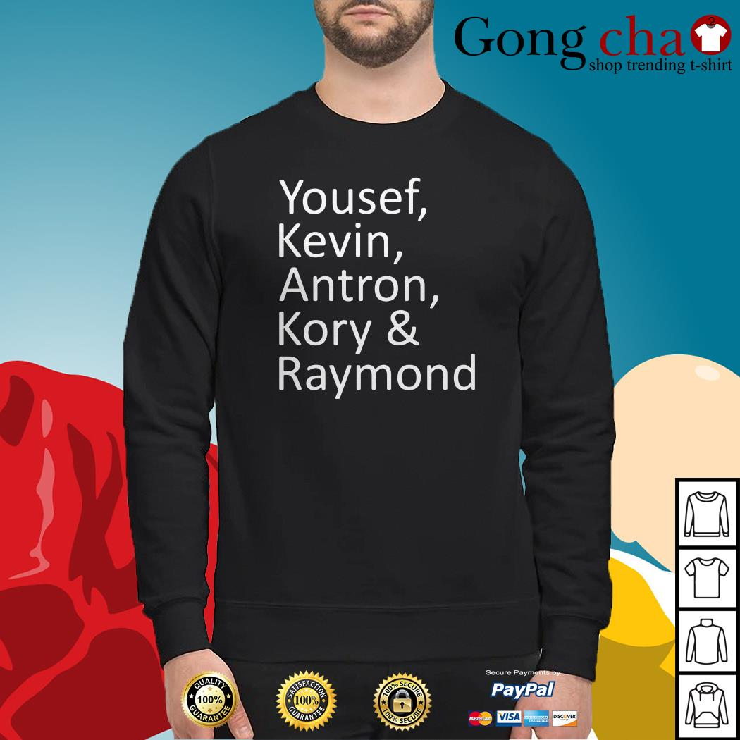 Yousef Kevin Antron Kory and Raymond Sweater