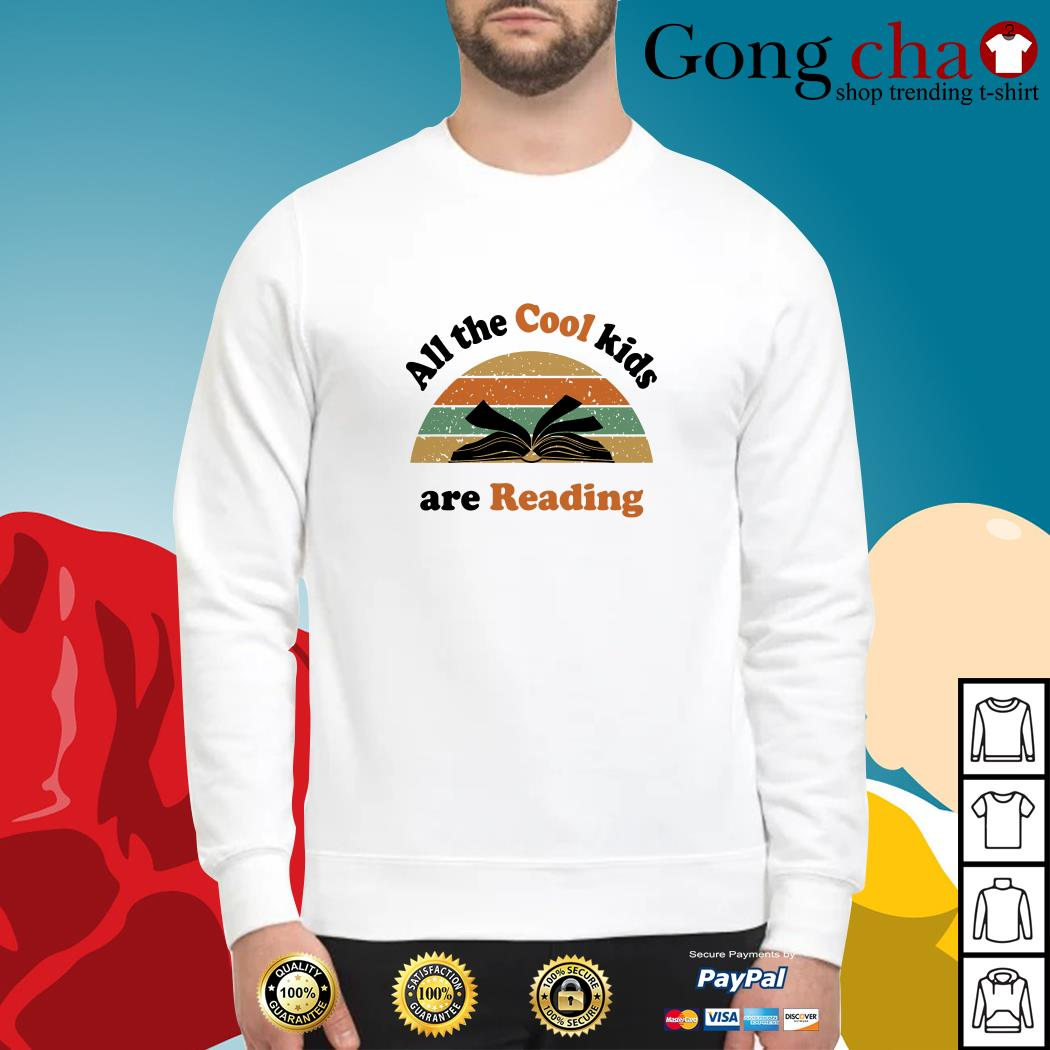 All the cool kids are reading vintage Sweater