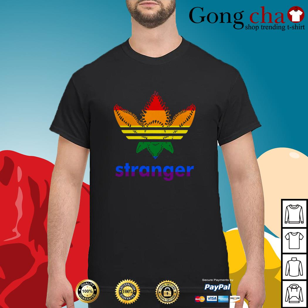 LGBT Stranger Things Adidas Stranger shirt