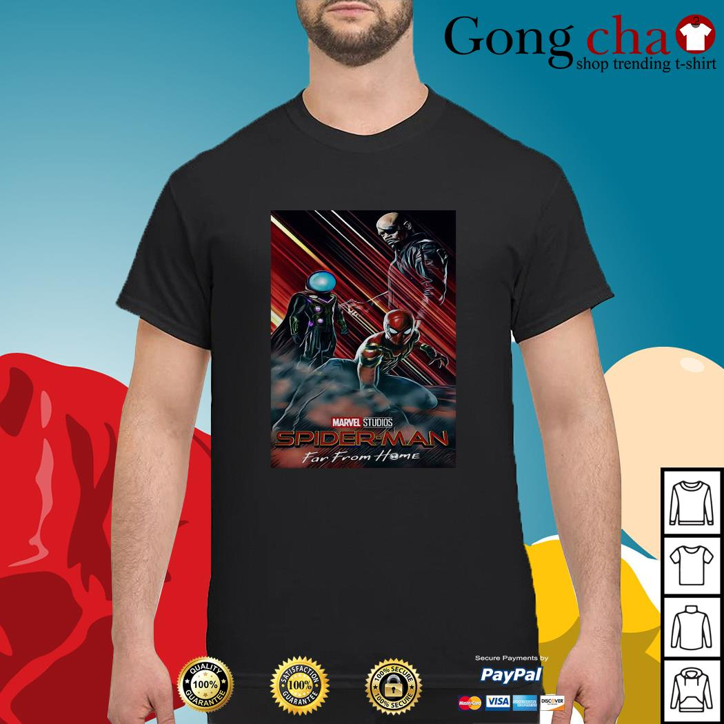 Marvel Studios Spider-Man far from home poster shirt
