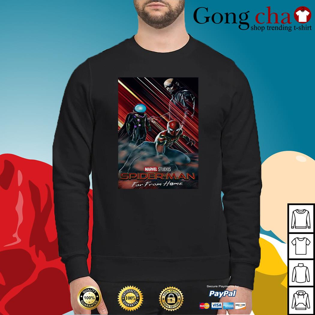 Marvel Studios Spider-Man far from home poster Sweater