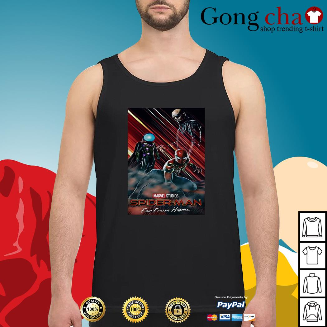 Marvel Studios Spider-Man far from home poster Tank top