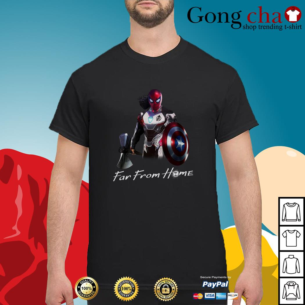All in one Spider man far from home shirt
