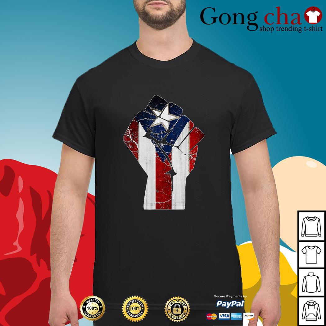 Puerto Rico punch shirt
