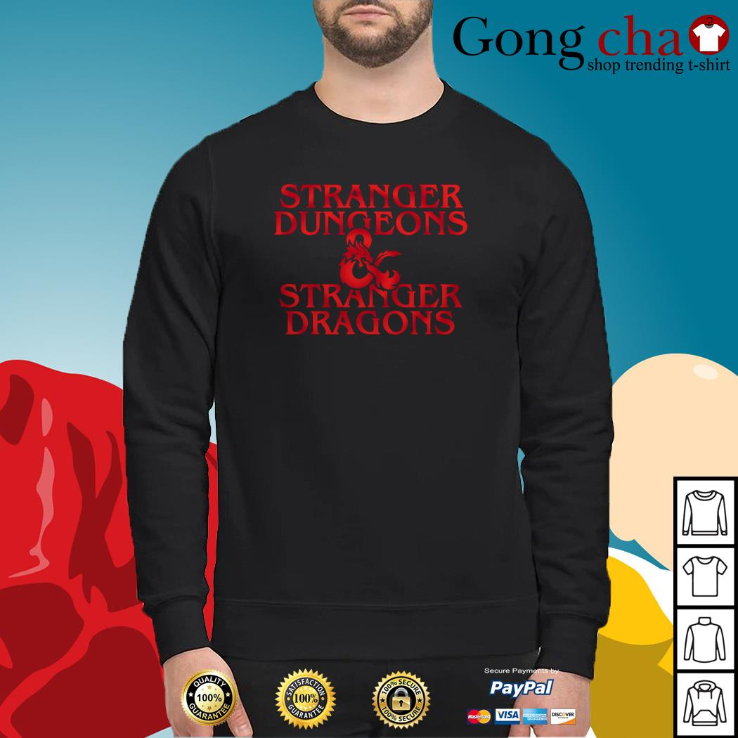 Stranger dungeons Stranger dragons Sweater