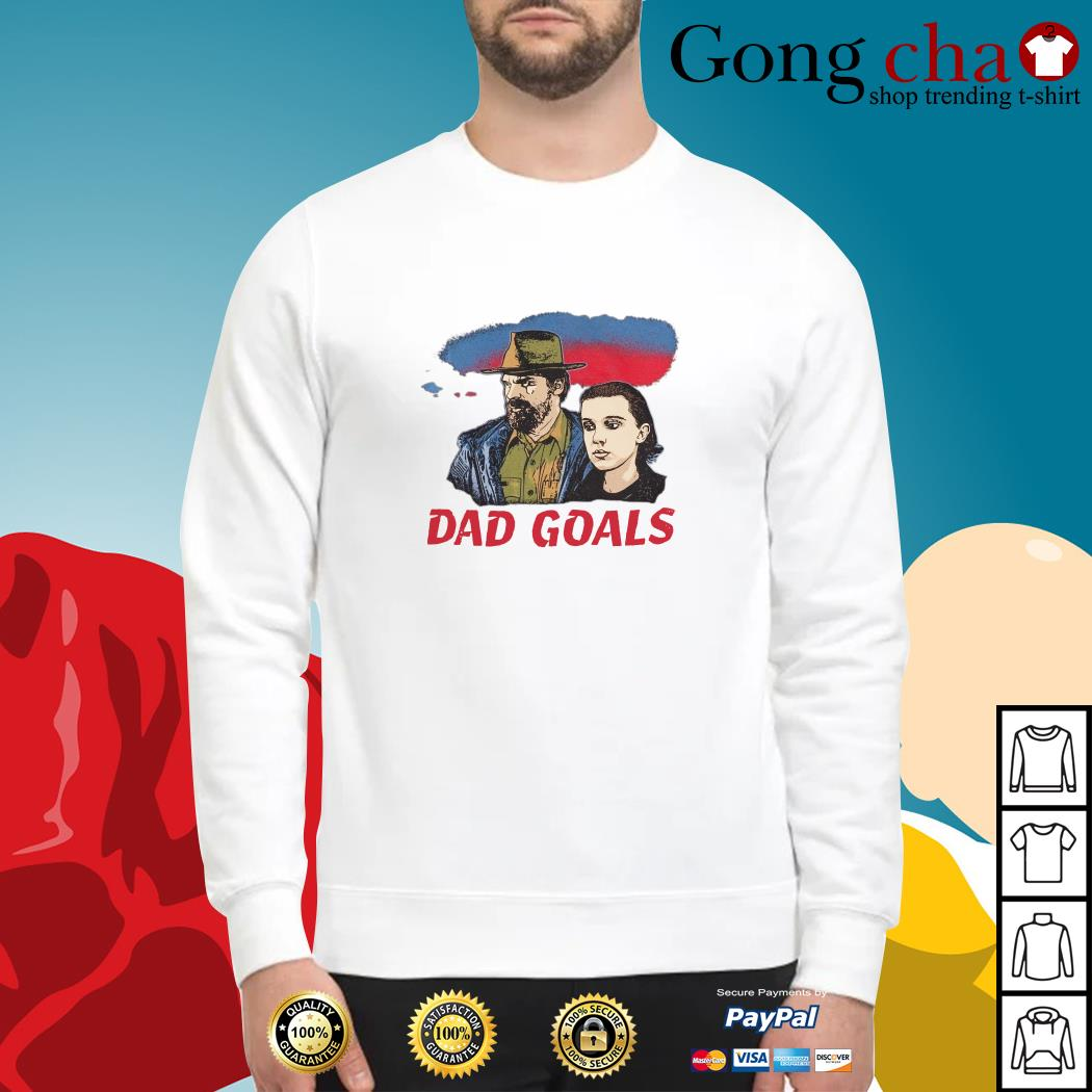 Stranger Things Eleven and Jim Hopper Dad Goals Sweater