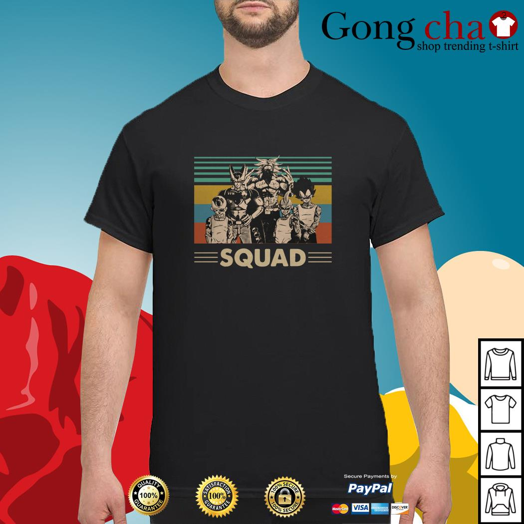 Dragon Ball squad vintage shirt