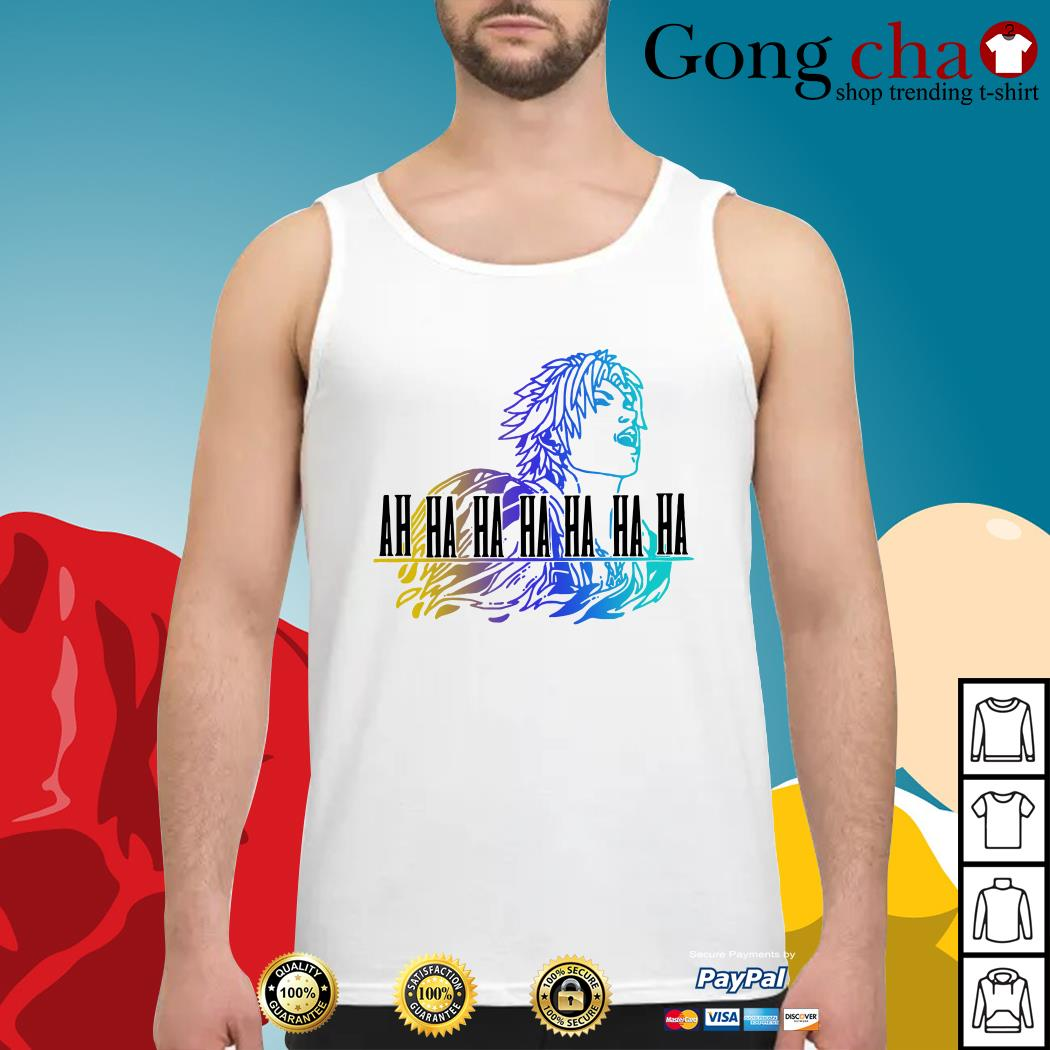Final Fantasy Tidus ah ha ha ha Tank top