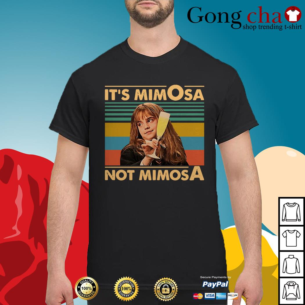 Hermione Granger it's mimosa not mimosa vintage shirt