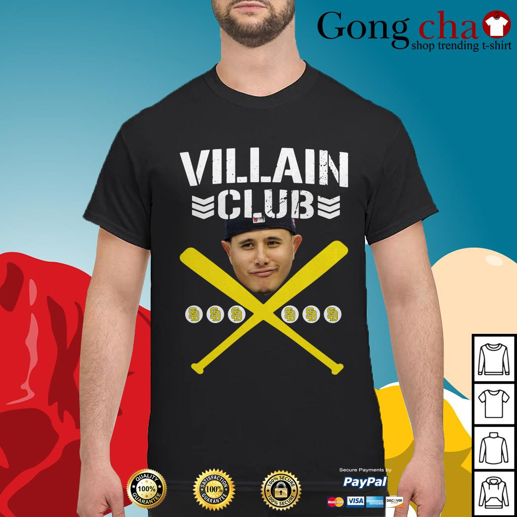Manny Machado villain club shirt