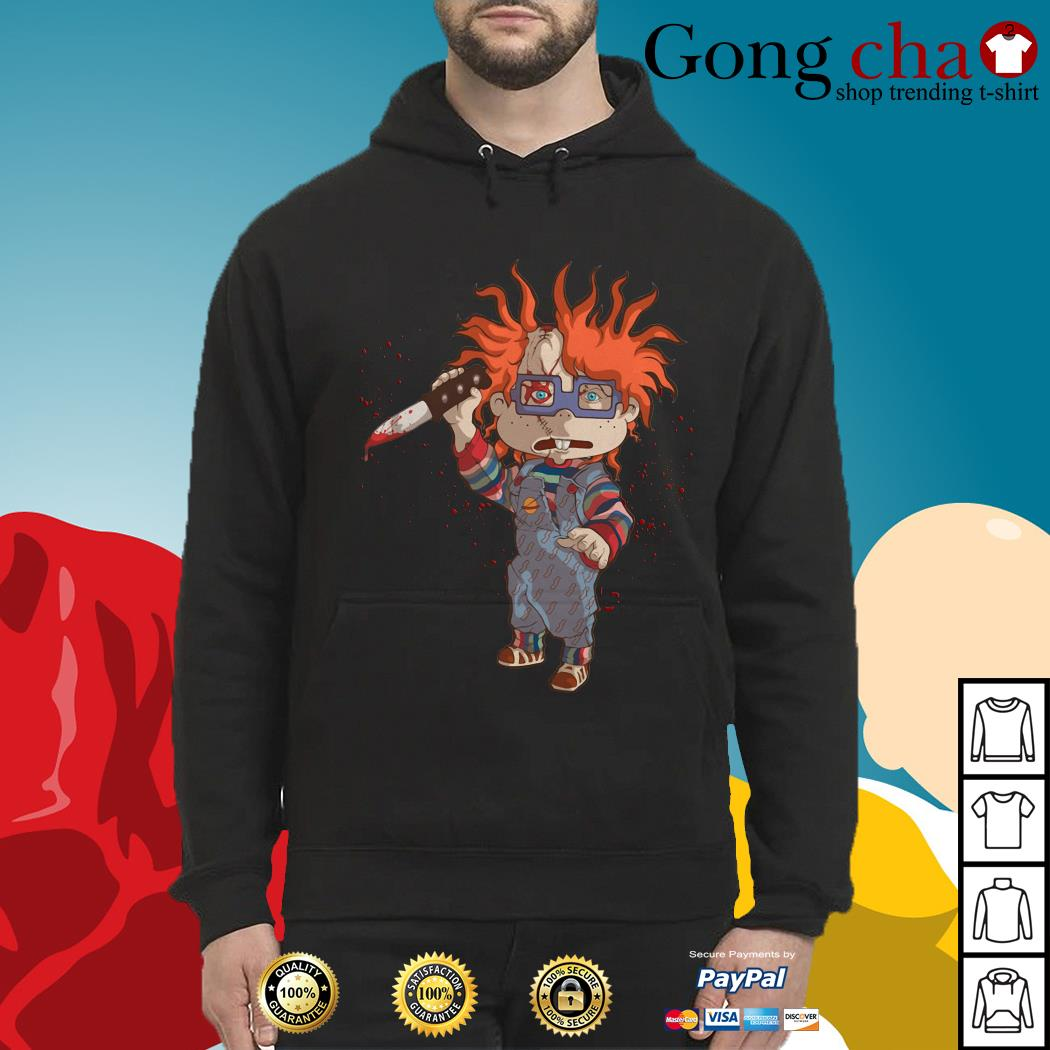 Rugrats Meets Childs Play Chucky Hoodie