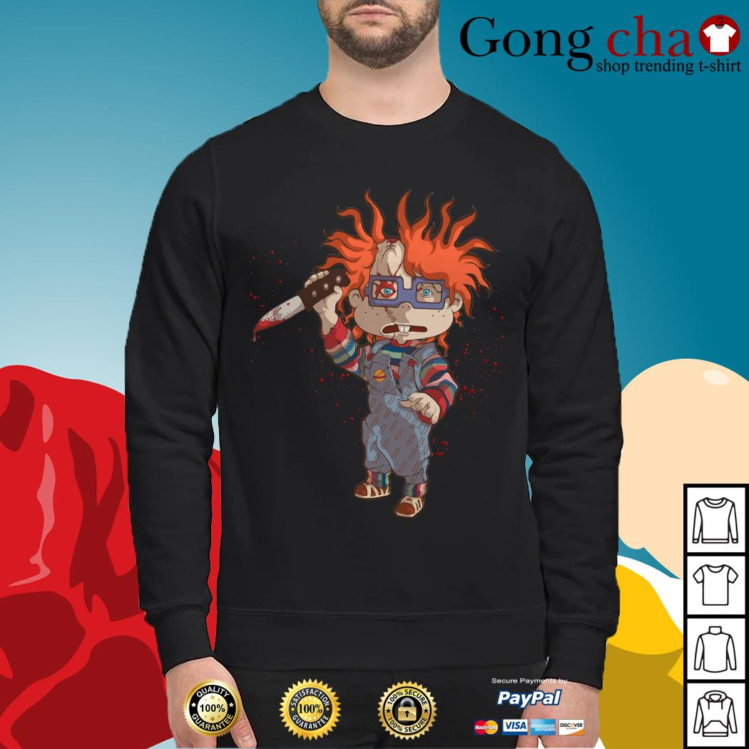 Rugrats Meets Childs Play Chucky Sweater