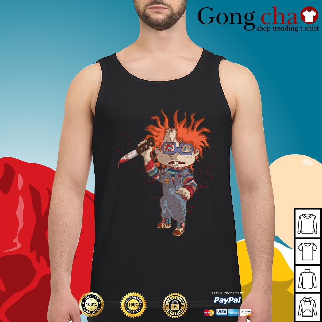 Rugrats Meets Childs Play Chucky Tank top