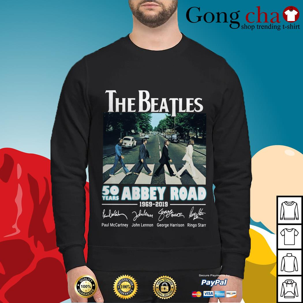 The Beatles 50 years Abbey Road 1969-2019 signature Sweater