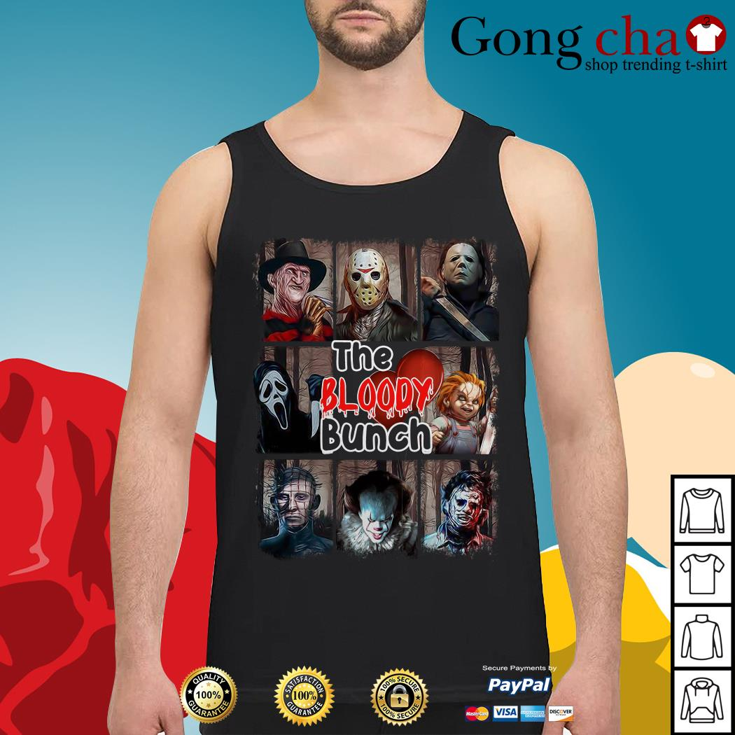 The Bloody Bunch horror movies characters Halloween Tank top