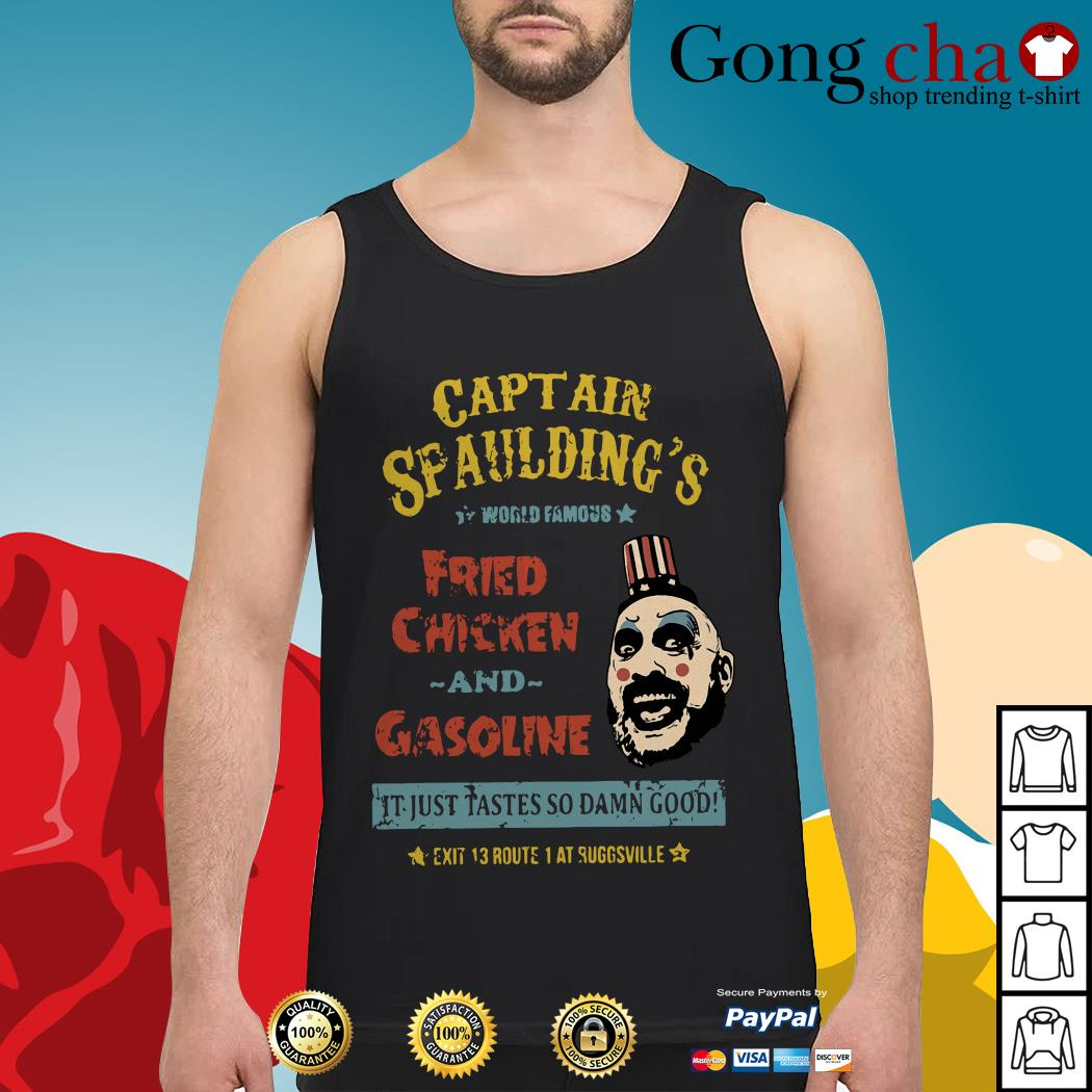 Captain Spaulding's world famous fried chicken and gasoline Tank top