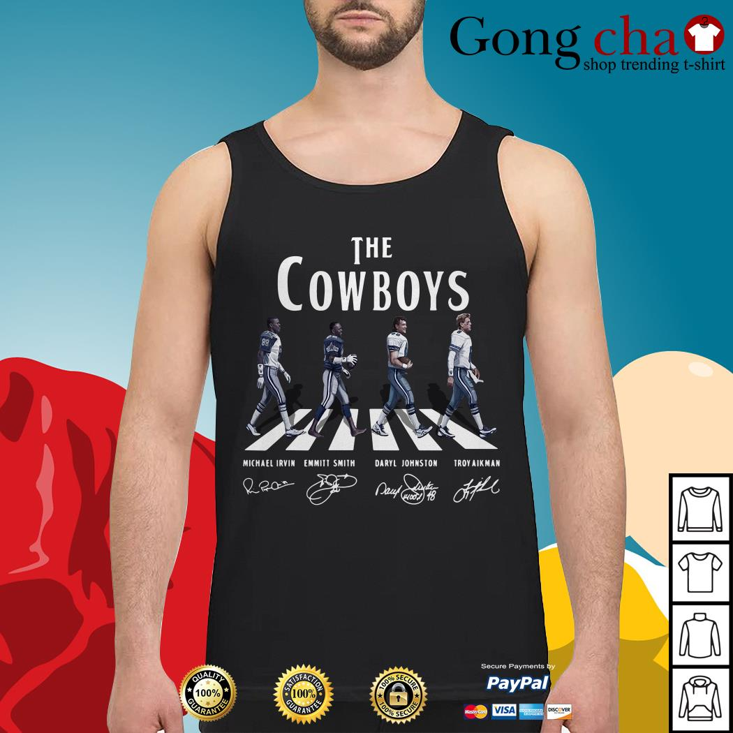 The Cowboys Abbey Road signature Tank top