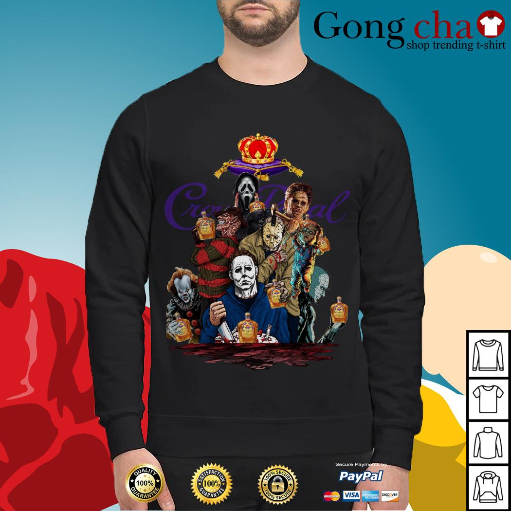 Crown Royal horror characters movies Sweater