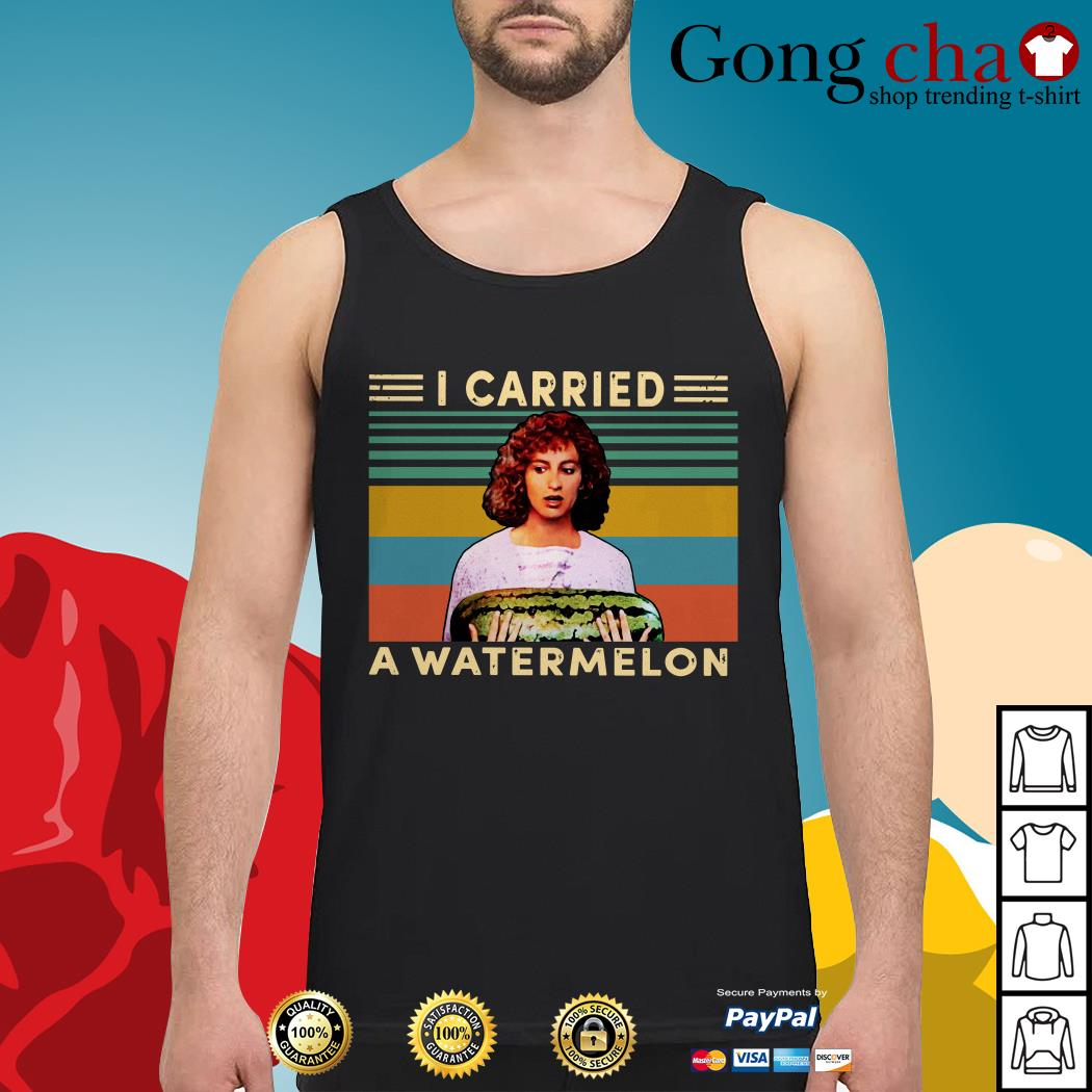 Dirty Dancing I carried a watermelon vintage Tank top