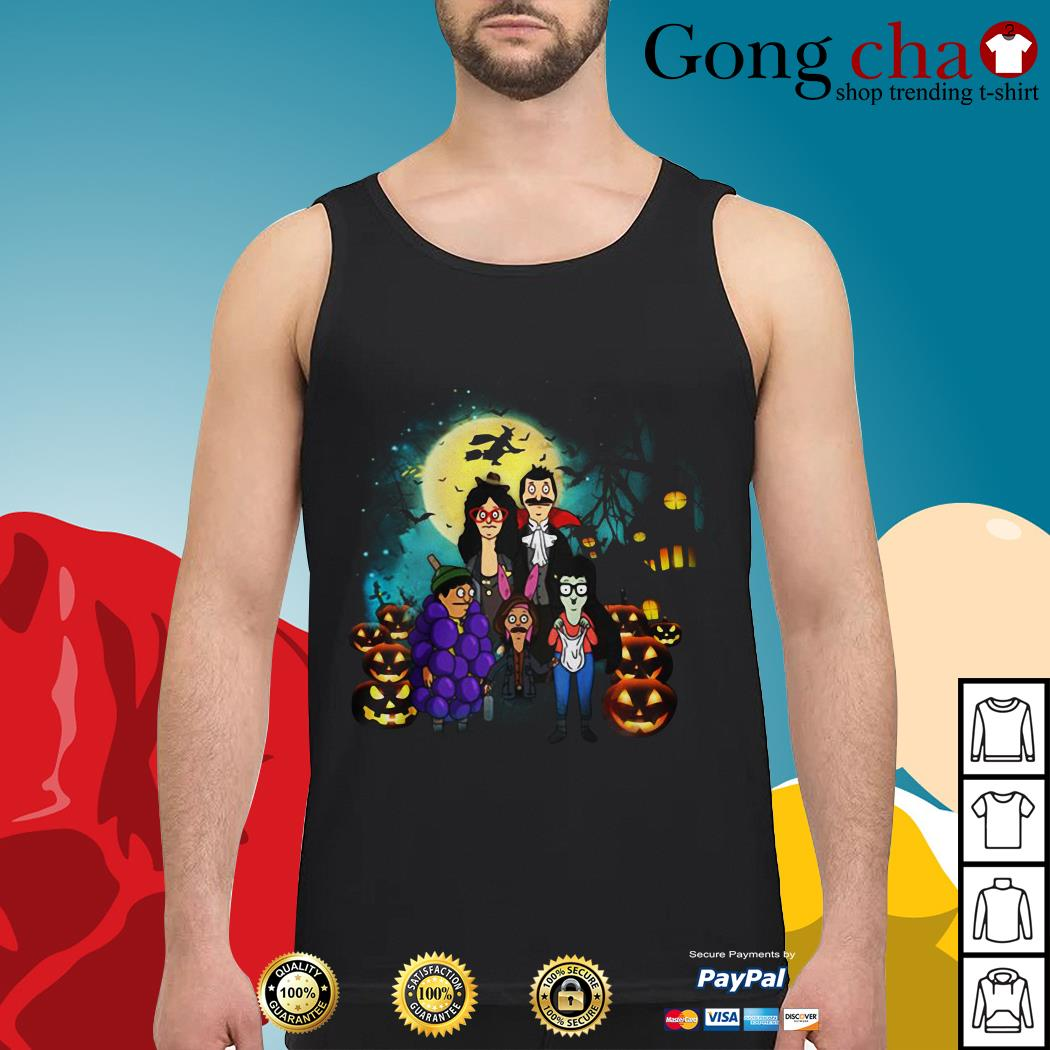 Halloween Bob's Burgers family Tank top