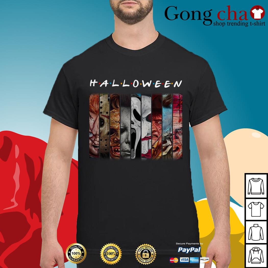 Halloween characters movie shirt