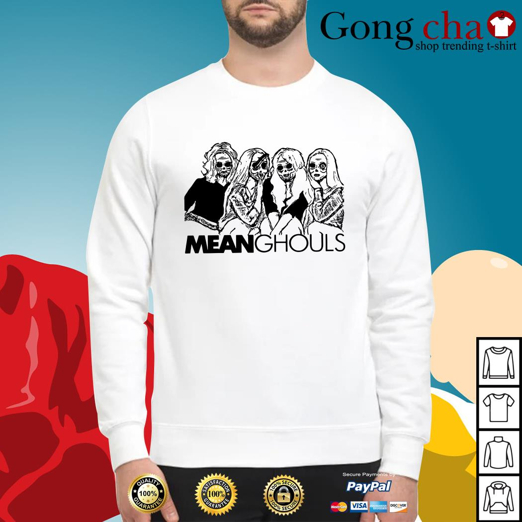 Halloween Mean Ghouls horror movie characters Sweater