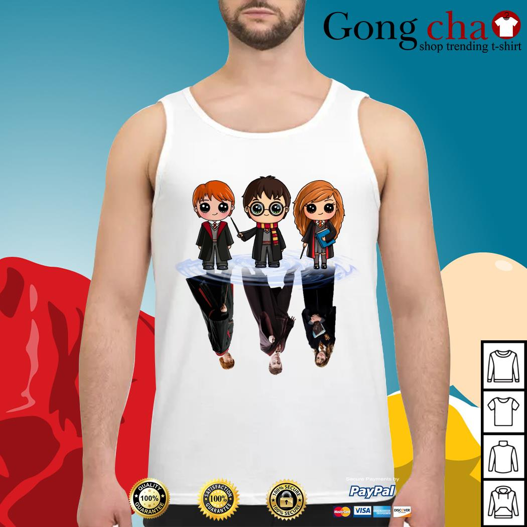 Harry Potter water reflection mirror Tank top